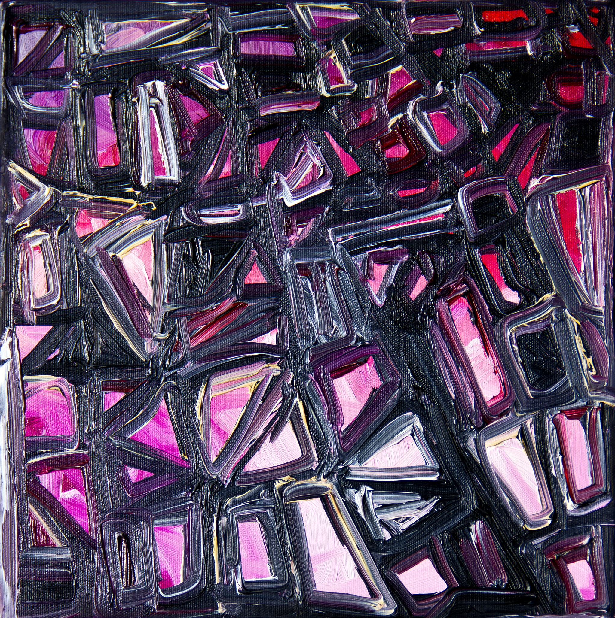 Rect 3 – 12″ x 12″ Oil on canvas